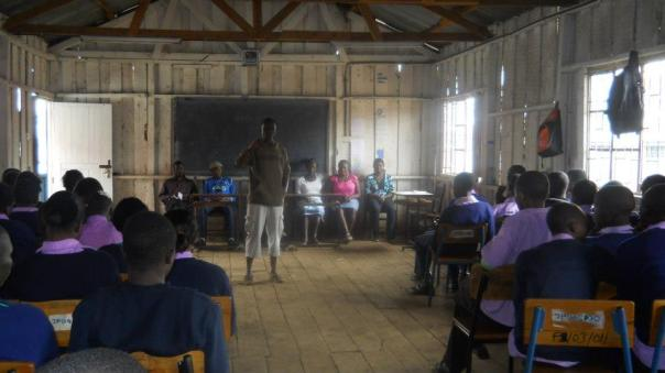 This saturday session was an inspiring piece of advice for the students, from a University of Nairobi Student.
