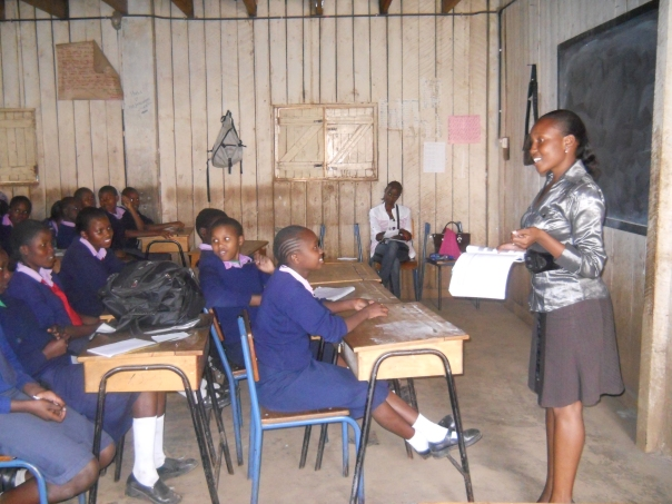 THE RED CARD CLUB AT JOHN PAUL (II) SECONDARY SCHOOL